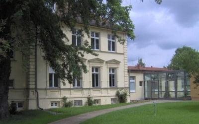 Außenansicht Tagungshaus Villa Fohrde