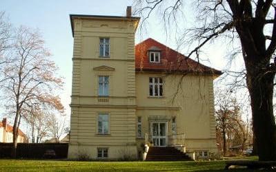 Außenansicht Villa Fohrde (altes Bild ohne Anbau)
